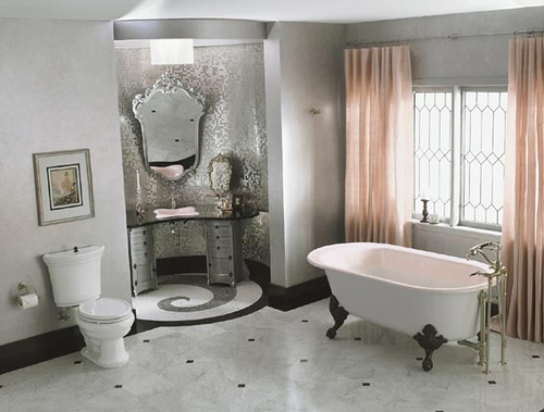 Contemporary Baroque Bathrooms Lifestyle Amour
