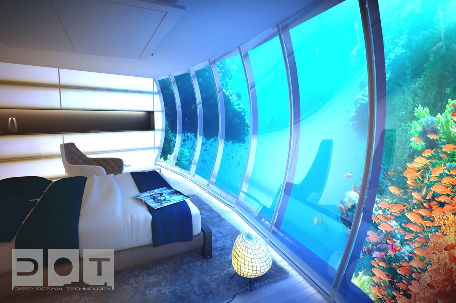 Luxury underwater water disc hotel dubai lifestyle amour for The expensive hotel in dubai